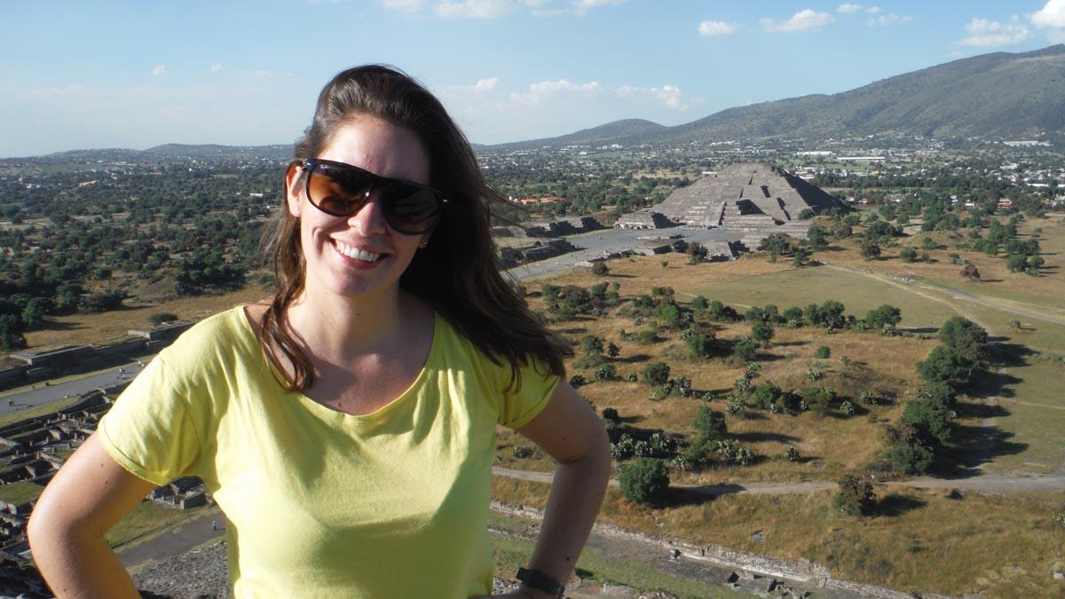 MJ en Teotihuacán