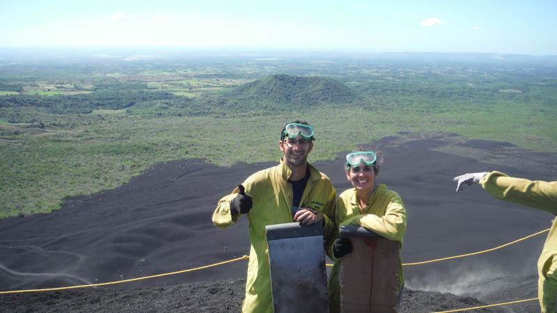 Volcano board