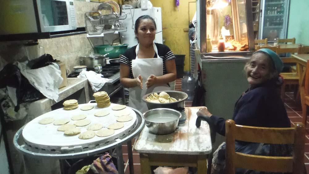 Tortitas en Quetzaltenango