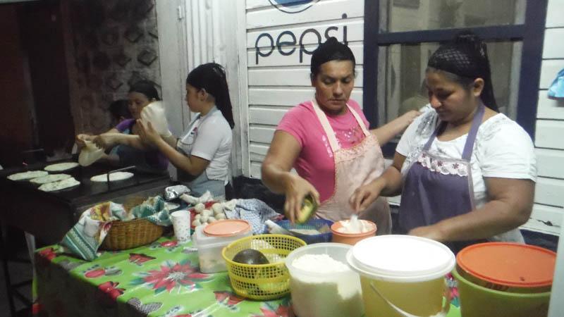 Comer en Honduras