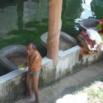 Lavaderos en Livingston Guatemala