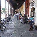 Soportales en Antigua Guatemala