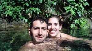Nosotros en un cenote