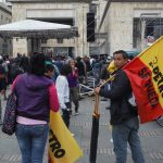 Manifestacion en Bogota