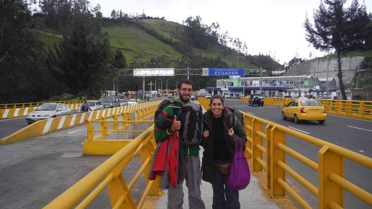 Frontera de Ecuador
