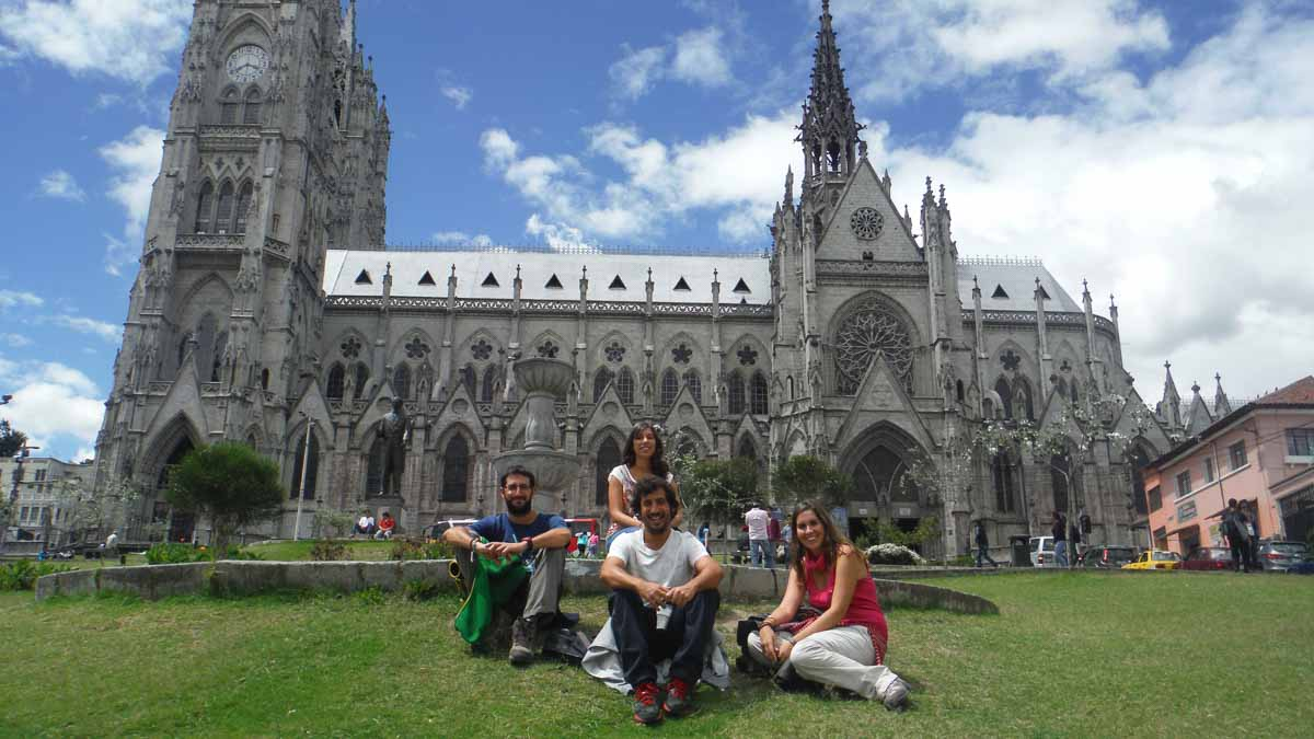 Quito con amigos