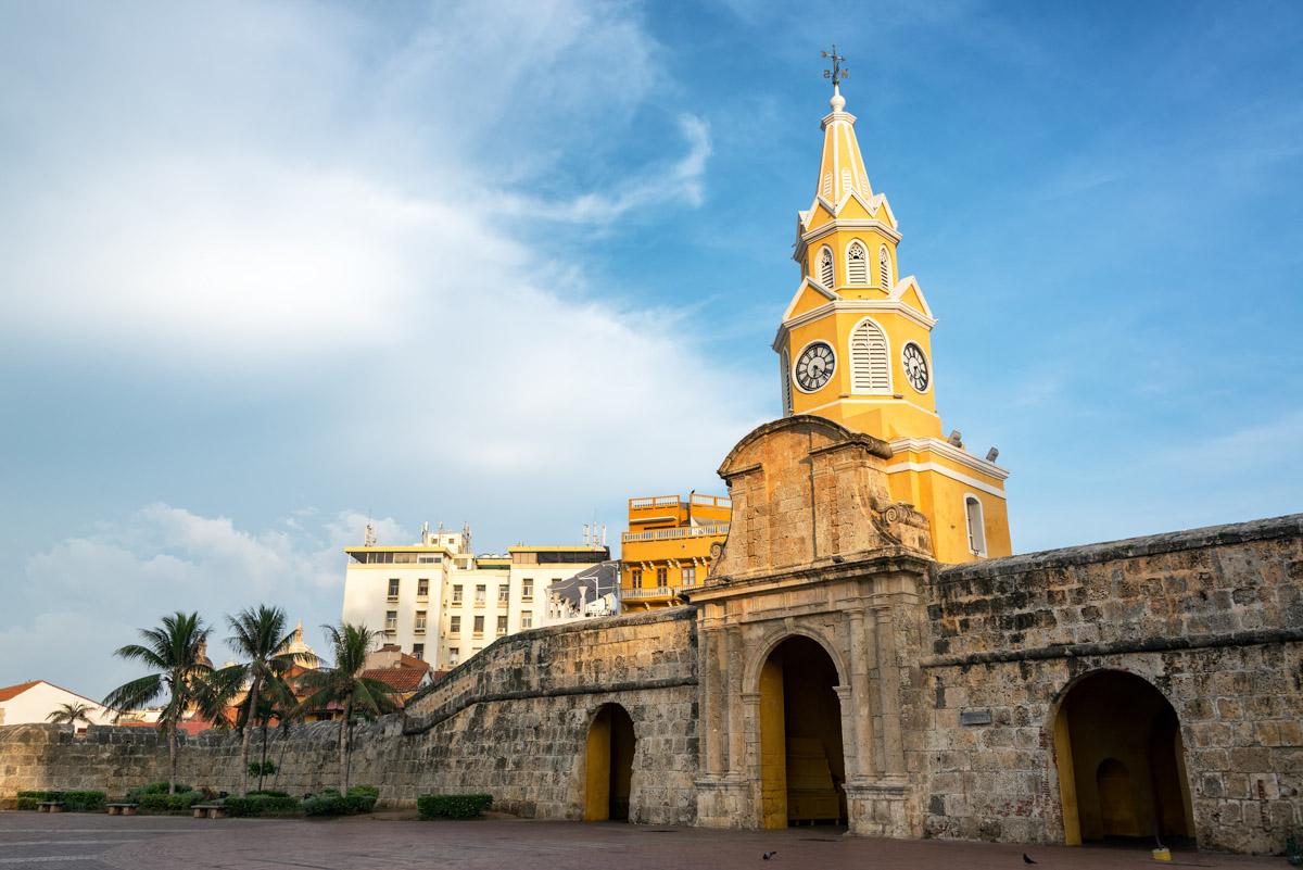 Torre del Reloj de Cartagena de Indias