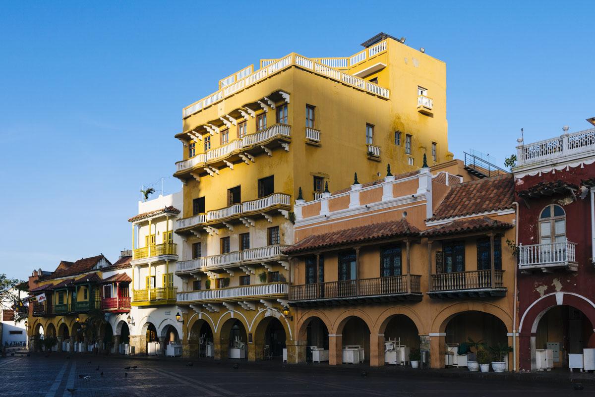 Plaza de Cartagena de Indias