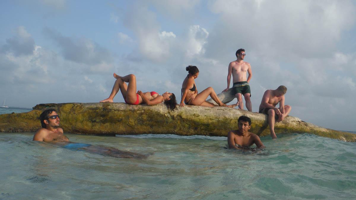Piscina natural en San Blas