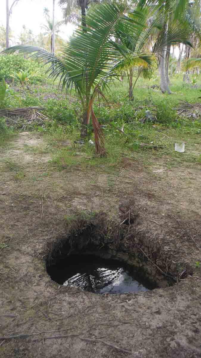 Agua dulce en San Blas