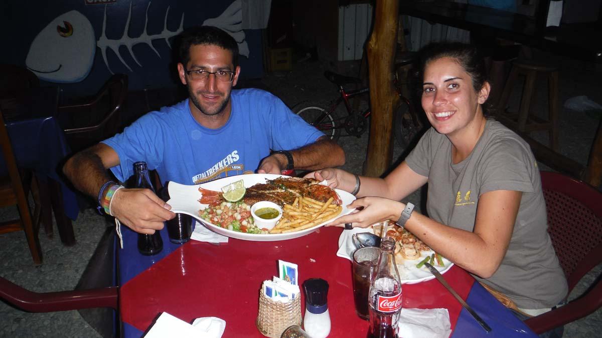 Comer en Puerto Viejo