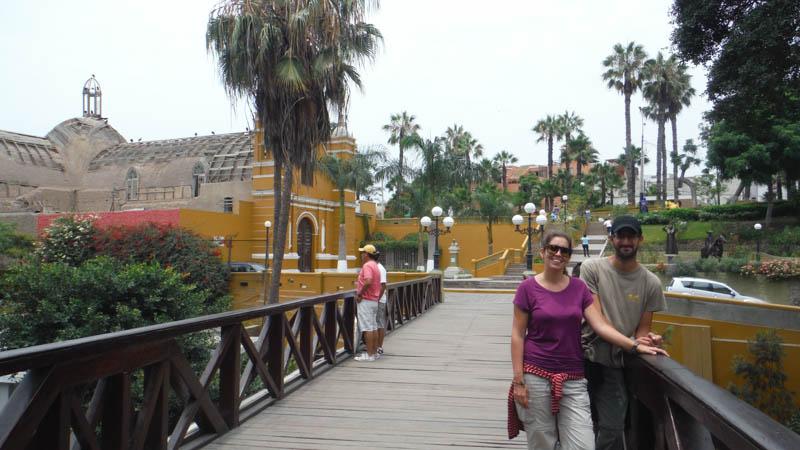 Puente de los Suspiros en Lima