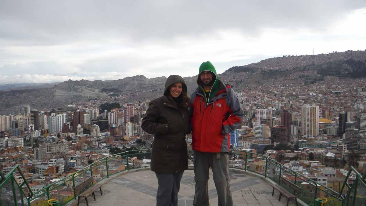 Mirador en La Paz