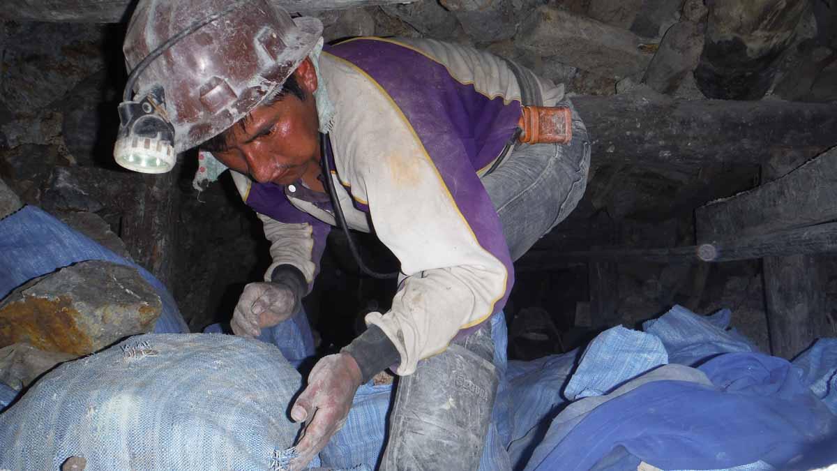 Mineros de Potosi