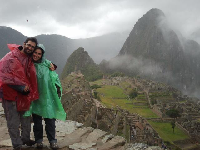 Nosotros en Machu Picchu