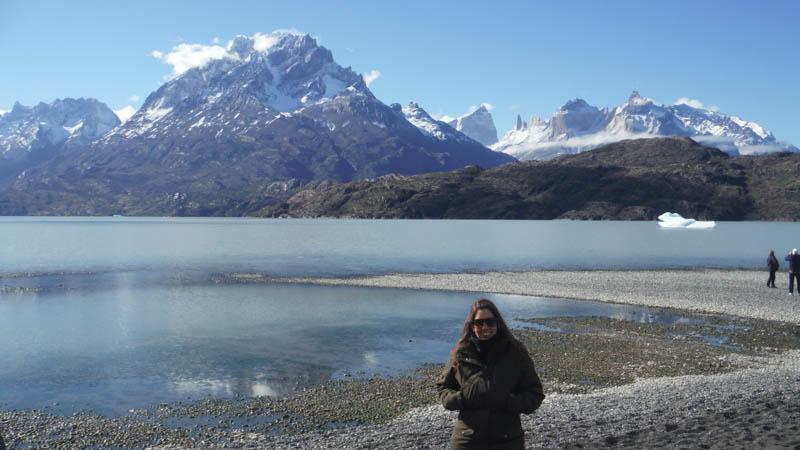 MJ en el Parque Nacional Torres del Paine