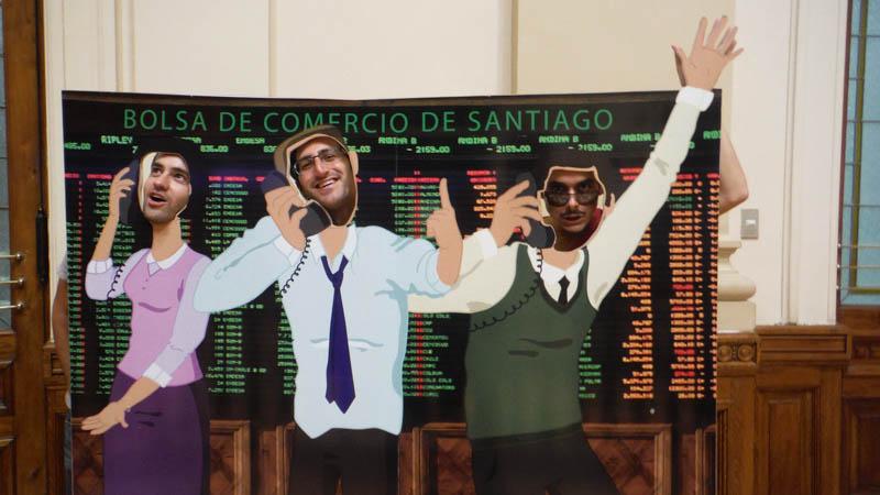 bolsa de comercio Santiago de Chile