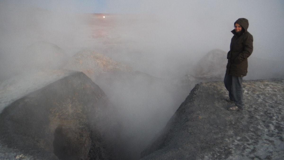 Geiser desierto de Atacama