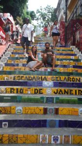 Escaleras en Santa Teresa
