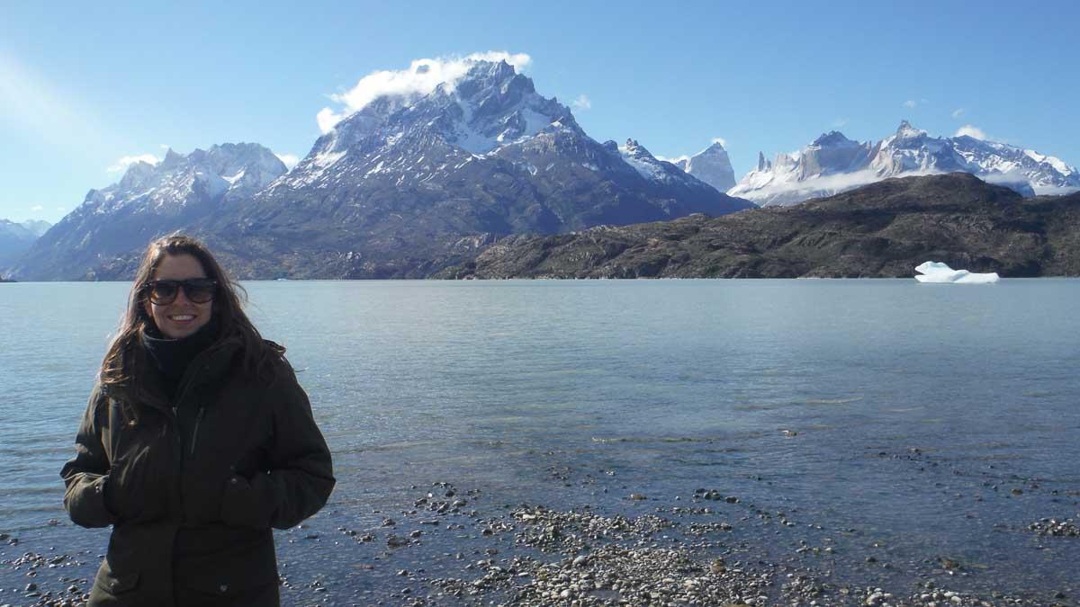 MJ en Torres del Paine
