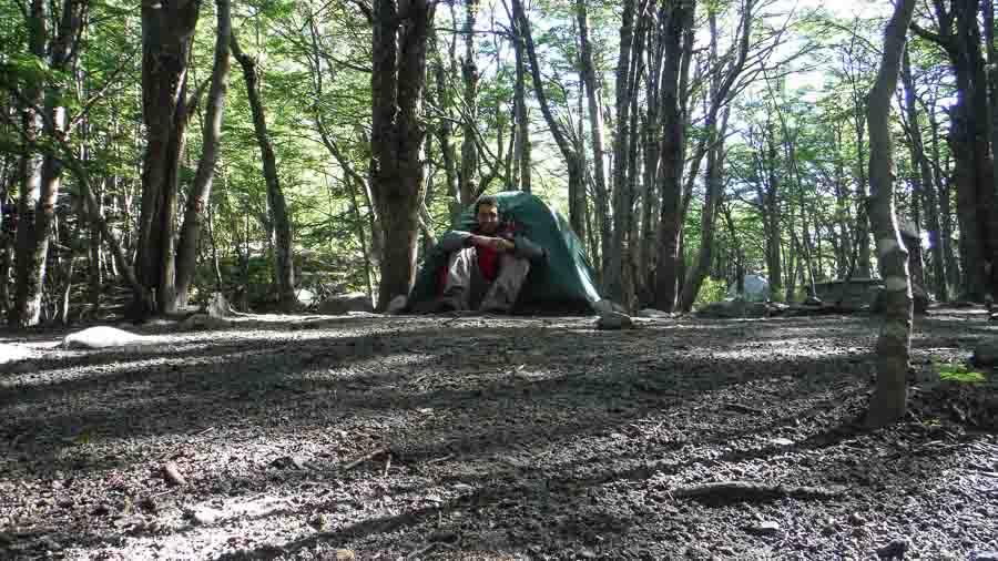Camping en Torres del Paine