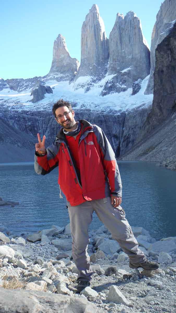 JP en Torres del Paine