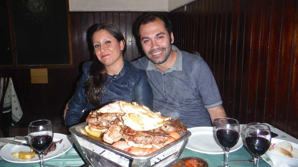 Nuestros amigos en Valparaiso