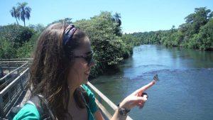 MJ en Iguazu