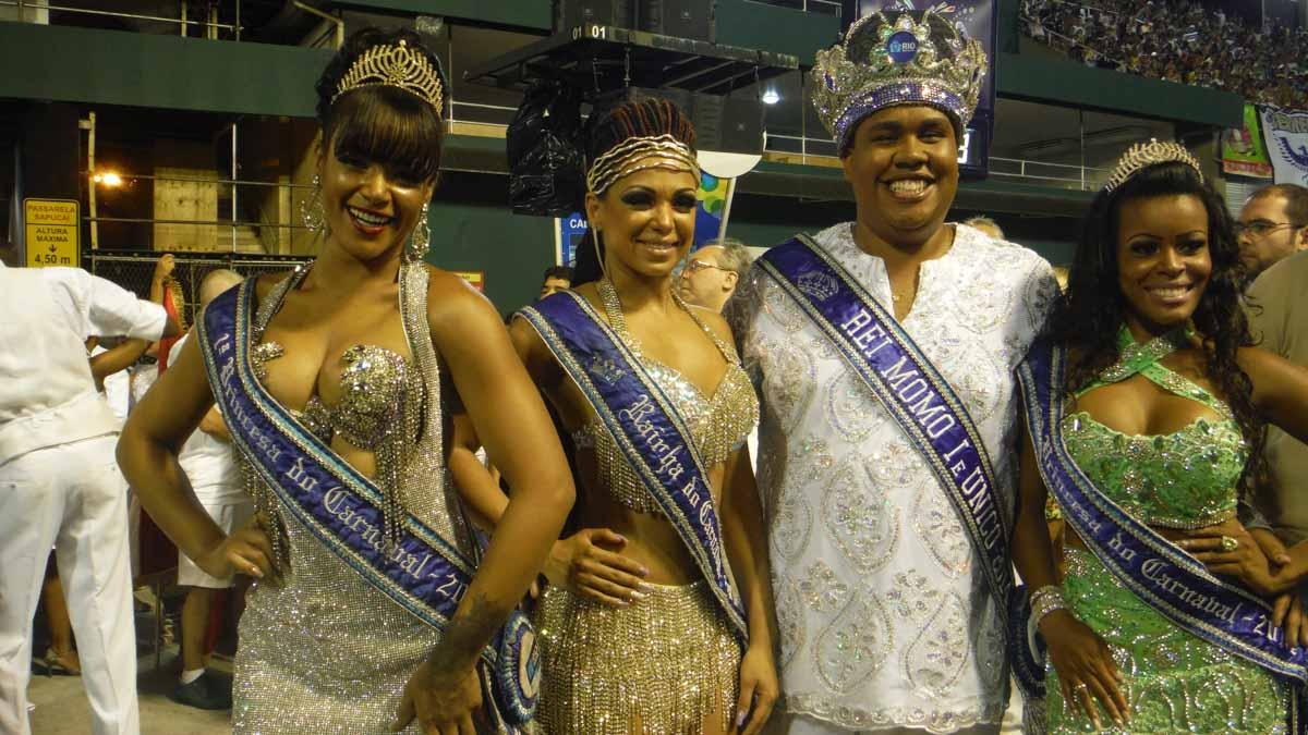 Reyes del Carnaval de Rio
