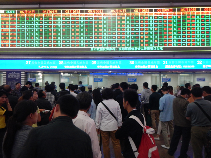 Estación de tren Pekín