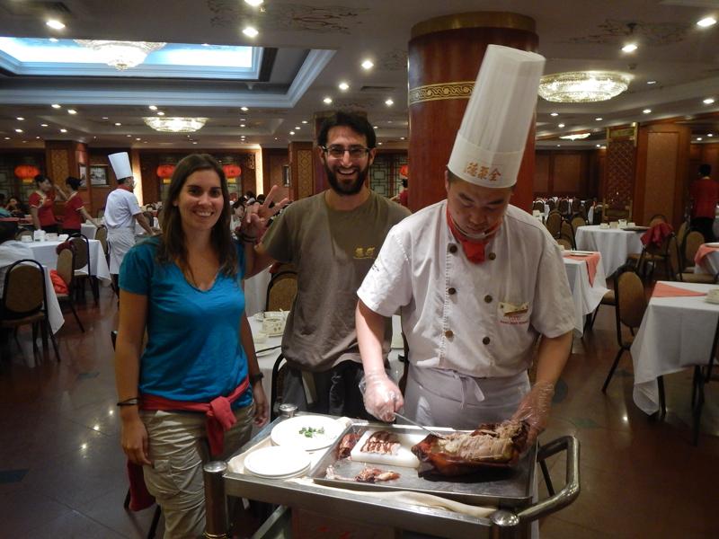 cocinando en Pekín