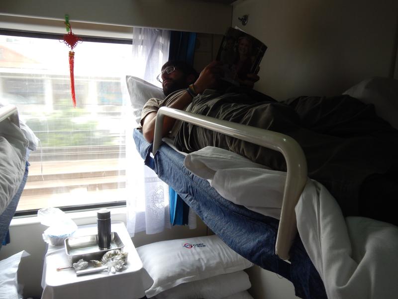 tren camino a Pekín