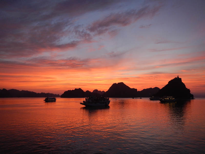 Bahía de Ha-Long, Vietnam