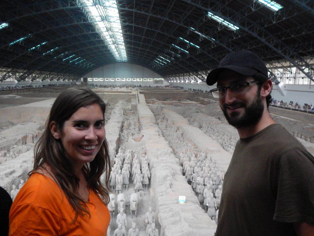 Guerreros de Terracota en Xian