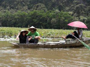 Paseo en barco por Ninh Binh