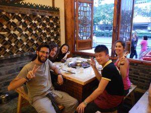 Comer en Chengdu