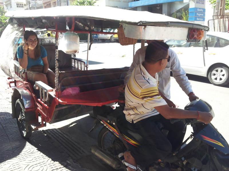 camino a Phnom Penh