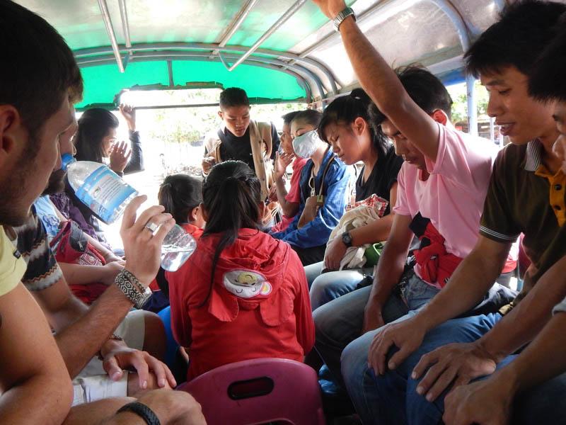 camino a Nong Kwiaw