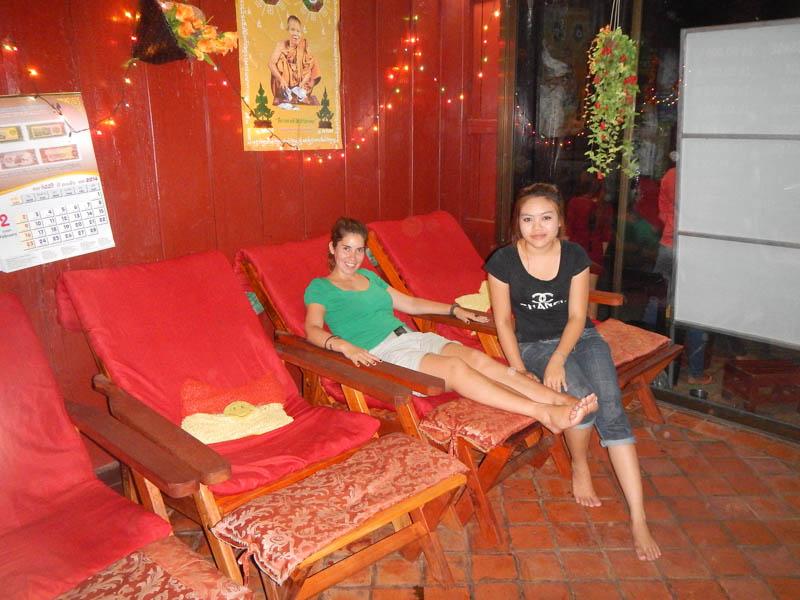 buffet en Luang Prabang
