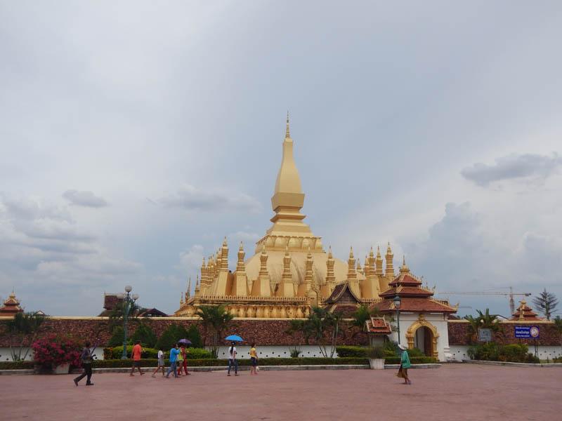 Templo de Pha That Luang, Laos