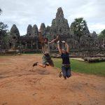 Salto en Angkor