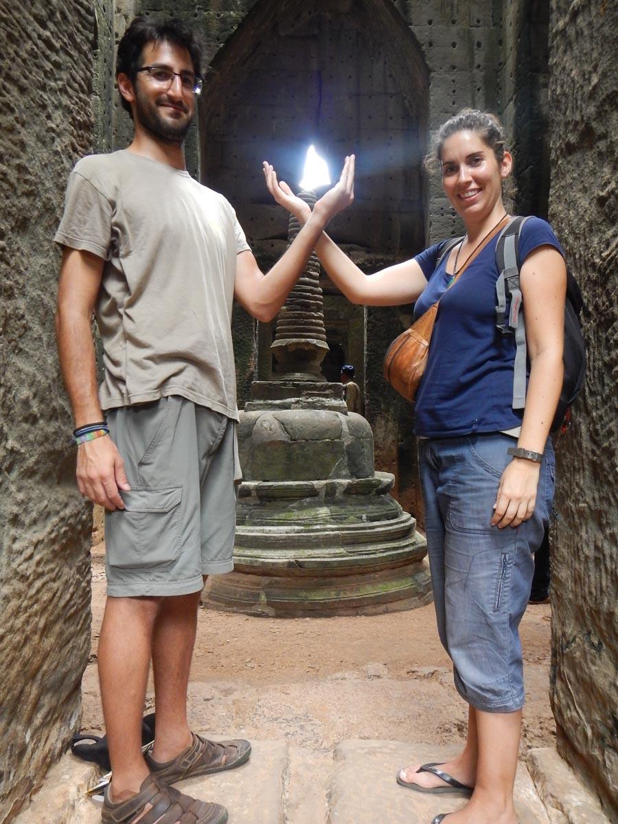 Luz en los Templos de Angkor