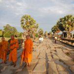 Monjes en Angkor