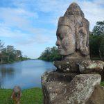 Lago en Angkor