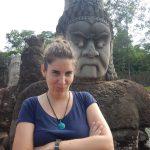 Cabezas en Angkor