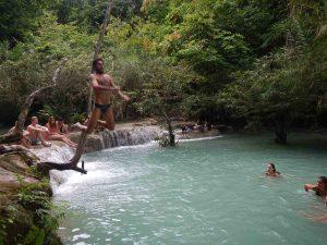 Cataratas en el norte de Laos