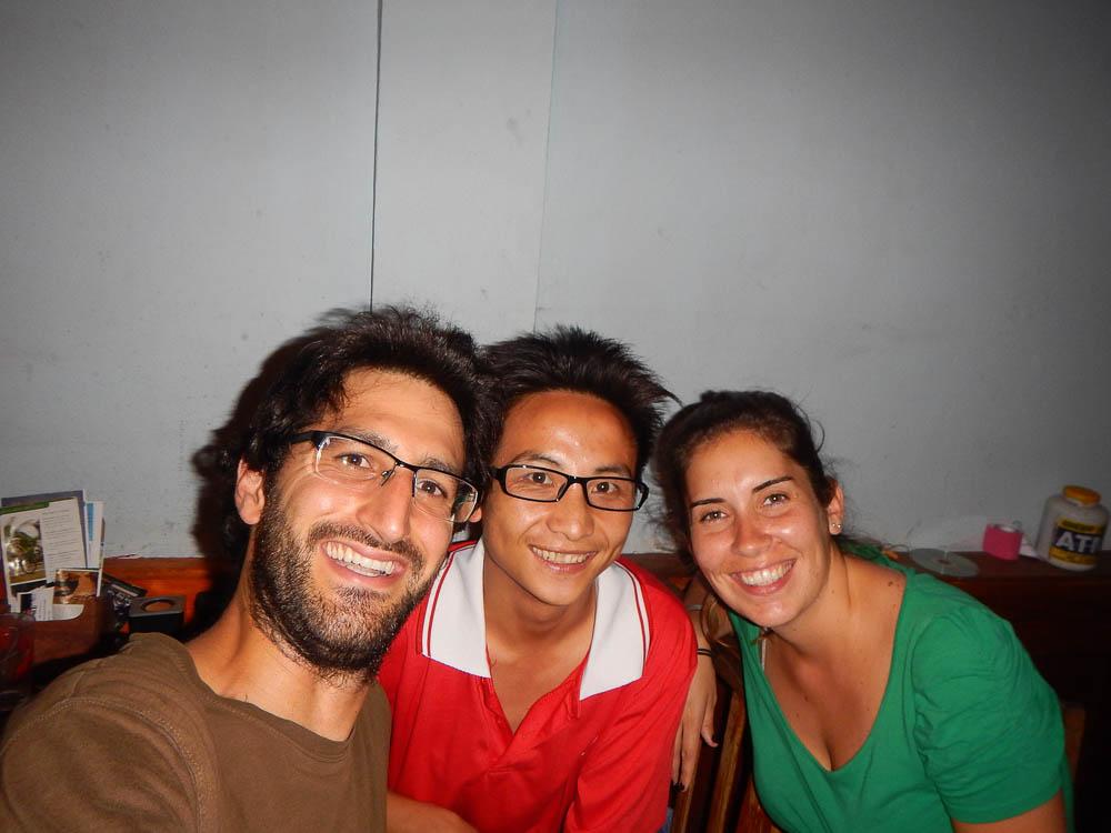 Nuestro amigo en Luang Prabang