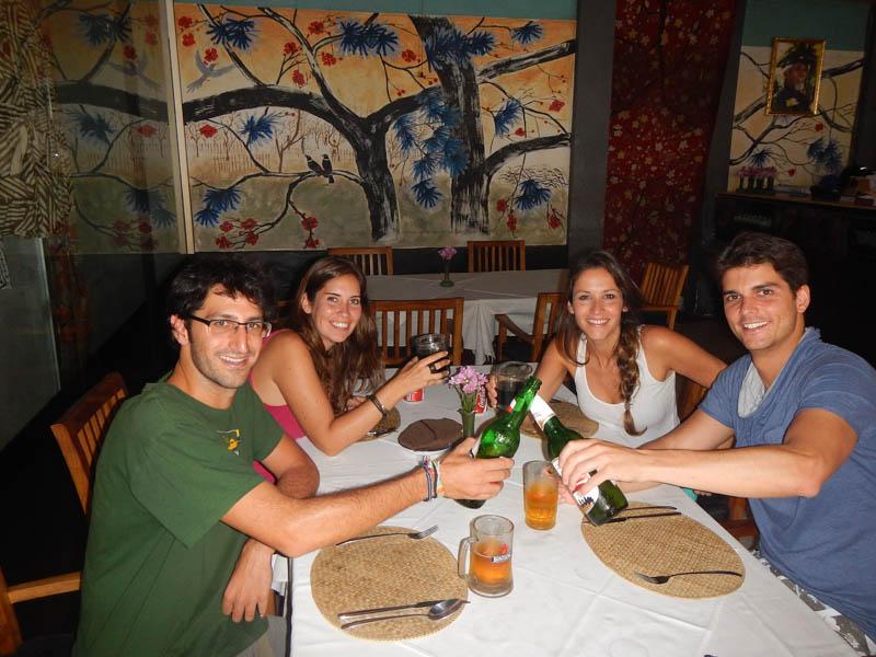 cena en Bali