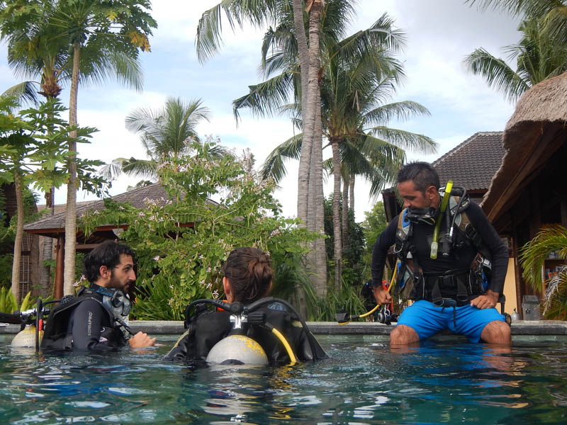 buceo en Lembongan