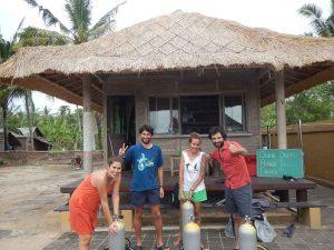 Escuela de Buceo en Bali